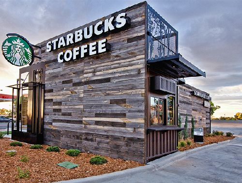 This is not the actual Starbucks in this transaction