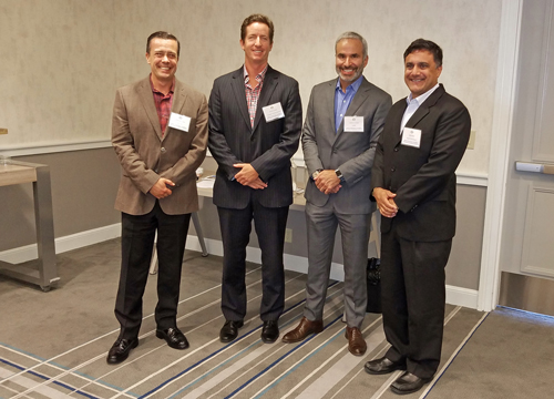 Multifamily Panel (L-R): Christopher H. Locke, HFH, Ltd.; Steven Ludwig, Strategic Housing Partners; Carlos A.G. Vignon, CBRE; Mark Mittal, Swami International