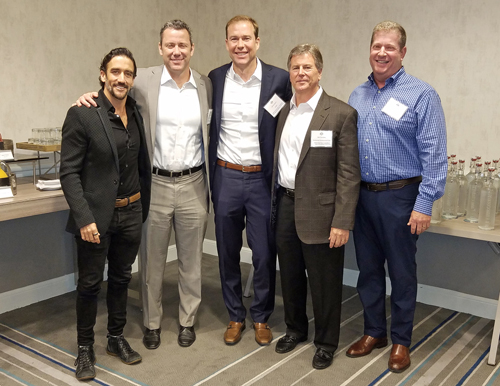 Office Panel (L-R): Matthew Rosenberg, M-Rad Architecture; Ryan Hursh, Artisan Realty Advisors; Bill Bloodgood, CBRE; Bob Tarnofsky, Continental Development Corp.; Steve Solomon, JLL