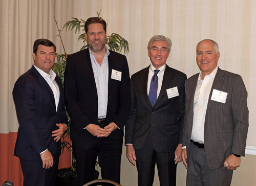 Office Panel (L-R): Nico Vilgiate, Colliers International; Russ Allegrette, Ocean West Capital Partners; Bill Shubin, Shubin Nadal Realty Advisors; Bryan Lewitt, JLL