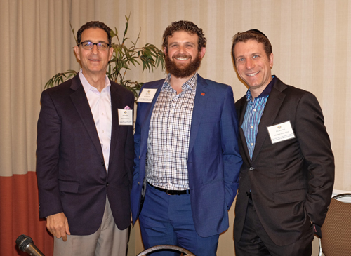 Retail Panel (L-R): Matthew May, May Realty; Gregg Offsay, illi Commercial Real Estate; Eric Silverman, SBH Real Estate Group