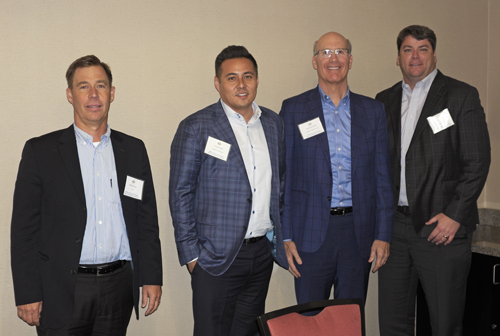 Industrial Panel (L-R): Mike McCrary, JLL; Nicholas Ilagan, CapRock Partners; Michael Del Santo, Alere Property Group; Chris Burns, Duke Realty