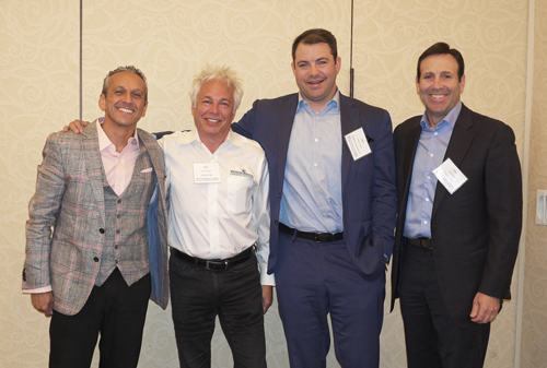 Retail Panel (L-R): David Yashdar, KW Commercial; Marc Pollock, Westside Retail, Inc.; Carter Crouch, Dynamic Real Estate Partners; Joel Mayer, Rockwood Capital, LLC