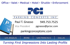 Parking Concepts Inc